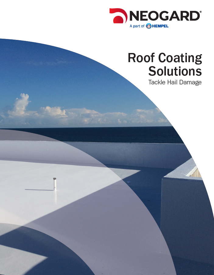 Roof Coating Solutions to Tackle Hail Damage