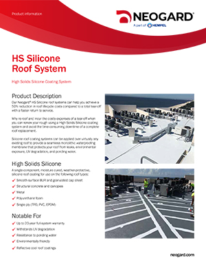 HS Silicone Roof System
